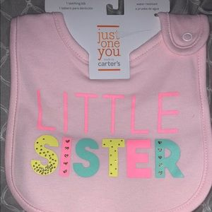 Little sister big w/Glitter